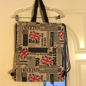 London tote bag and or backpack!
